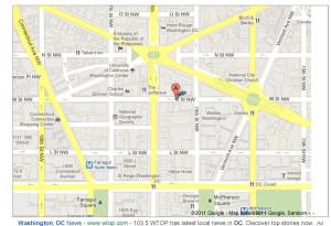 Metropolitan AME Church Location