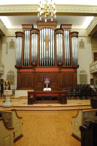 Renovated Sanctuary with Organ